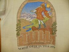 VTG JETHRO TULL 1979 ON THE ROAD AGAIN NORTH AMERICAN TOUR CONCERT TEE