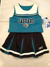 Jacksonville Jaguars NEW Youth Large 2-Piece Cheer Outfit Set . NFL Football