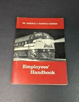 Louisville and Nashville Railroad Employee Handbook 1959