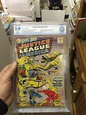 Brave and the Bold #29 sbcs not cgc 3.0  Key 2nd Justice League