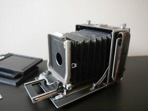 "Linhof Technika Mark III 5x4 4x5"" Large Format Rangefinder camera"