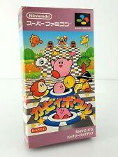 Kirby Bowl (Kirby's Dream Course) - Nintendo Super Famicom SFC JAP Japan complet