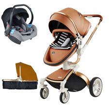 Baby Stroller 3 in 1 high landscape travel pram Pushchair&car seat for Hot Mom
