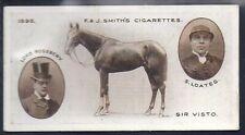 SMITHS-DERBY WINNERS-#33- HORSE RACING - SIR VISTO