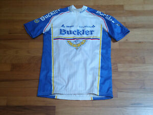 Vintage Buckler Colnago Cycling Team Short Sleeve Jersey Large: NOS
