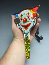 US Metal Toy Manufacturing Co. Clown Clapper Noise Maker
