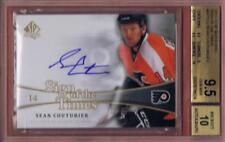 SEAN COUTURIER 2011-12 SP AUTHENTIC SIGN OF THE TIMES BGS 9.5 AUTO 10 SOTT 11-12