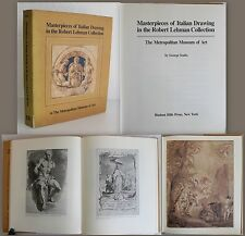 Szabo - Masterpieces of Italien Drawing in the Robert Lehman Collection 1983 -xz