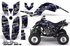AMR Racing Yamaha Raptor660 Graphic Kit Wrap Quad Decals ATV 2001-2005 SSSH BLUE