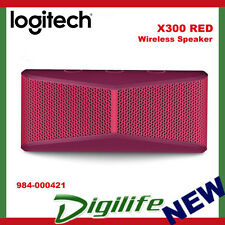 Logitech X300 Mobile Wireless Stereo Bluetooth Speaker Red 984-000421
