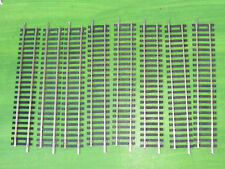 Hornby 8 x R600 single straight nickel silver track - OO Gauge