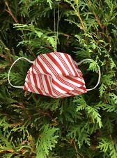 Handmade Fabric 2020 Commemorative Mask Christmas Ornament