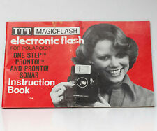 ITT MagicFlash For Polaroid OneStep Pronto Camera Owner's Manual Guide