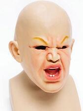 Adultos diversión bebé Máscara Halloween Tenebroso Fancy Dress Accesorio Stag Noche Hen party