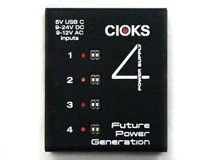 Used Cioks 4 Guitar Pedal Expander Power Supply