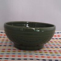 Fiestaware Sage Small Rice Bowl Fiesta Retired Green Exclusive Footed Bowl