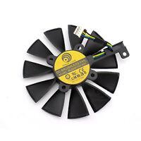 Ventilador de enfriamiento de tarjeta gráfica para ASUS DUAL GeForce GTX1060-O6G