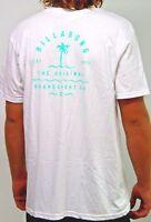 Men's Billabong Vibes White Surf Shirt / Tee. Size XL. NWT, RRP $49.99.