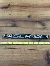 Original 1984-1985-1986 Chrysler Laser XE-Laser XE Emblem