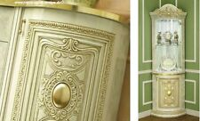 Barocco Lucido Vetrina da Angolo Armadio Glaskabinet Art. Consolle Italia