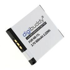 Digibuddy Accu Batterij Canon Ixus 240 HS - 600mAh 3.7V Akku Battery