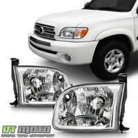 For 2000-2004 Toyota Tundra Pickup Truck Regular/Access Cab Headlights Headlamps