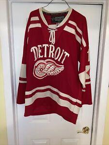 Pavel Datsyuk Detroit Red Wings 2014 Winter Classic NHL Reebok Hockey Jersey 54