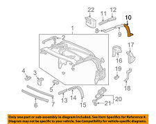 HONDA OEM 00-09 S2000 Convertible/soft Top-Weatherstrip Seal Right 72383S2A013