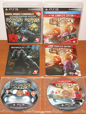 Bioshock Collection (1 & 2 Ultimate Rapture + Infinite The Complete Edition) PS3