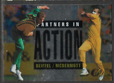 FUTERA 1996 CRICKET ELITE PAUL REIFFEL & CRAIG MCDERMOTT PARTNERS CARD No 54