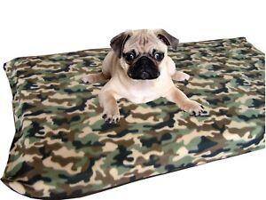 KosiPet® Medium Deluxe Waterproof Rhomboid Memory Foam Pad Dog Bed CAMOFLAGE