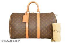 Louis Vuitton Monogram Keepall 45 Travel Bag M41428 - G00973