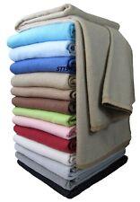 Wohndecke Baumwolldecke decke 150 X 205cm 100 Baumwolle Kuscheldecke beige