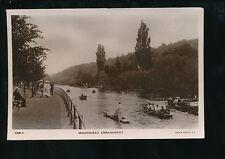 Berkshire Berks MAIDENHEAD Embankment  punt rowing etc used 1900s RP PPC