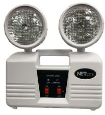 Rechargeable Emergency Light. Twin Heads spotlight use LED SuperBright