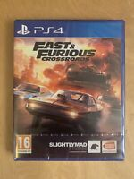 *NEW AND SEALED* Fast And Furious Crossroads - Sony PS4 Playstation 4 Game