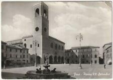 FANO - PESARO - PIAZZA XX SETTEMBRE - VIAGG. 1956 -64036-