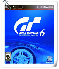 PS3 GRAN TURISMO 6 GT6 跑車浪漫旅 中英文合版 SONY PlayStation SCE Racing Games