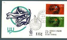SAN MARINO - 1974 - Centenario dell'U.P.U. su FDC Venetia