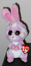 "Ty Beanie Boo's ~ AVRIL the 6"" Bunny ~ 2016 NEW ~ Exclusive ~ IN HAND"