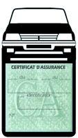 Porte vignette assurance PEUGEOT 205 GTI  étui voiture Sport Stickers auto rétro