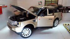 Auto di modellismo statico Burago in oro