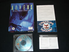 Aliens Comic Book Adventure Big Box Complete Original release no manual
