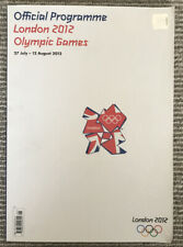 2012 London Olympic Games Official Programme-collectible