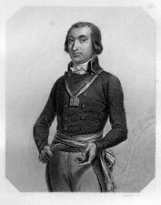 LES GIRONDINS / Cambon . signée Raffet 1848