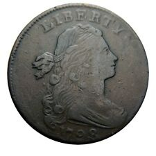 Large cent/penny 1798 style 2 hair nice example