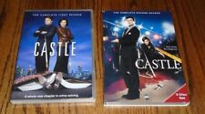 Castle: The Complete First & Second Seasons (DVD, 2009)