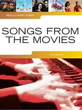 Really Easy Piano: Songs From The Movies - Including Let It Go, Happy & Skyfall
