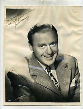 Jack Benny autographed photo PSA/DNA auth.-Impeccable Provenance-A REAL ONE!!!