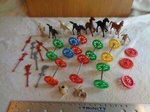 Marx Ben-Hur horses gladiators accessories
